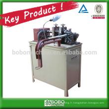 Machine à conduit métallique souple