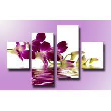 Neues Design dekorative Blume Leinwand drucken Kunst