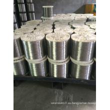Alambre recocido brillante de acero inoxidable 304 316 grado