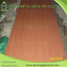 Forneça a madeira compensada da fantasia da categoria 1220X2440X2.7mm Sapele do AAA com preço competitivo
