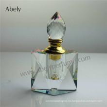 Precios de fábrica de la botella de perfume de cristal de Abely
