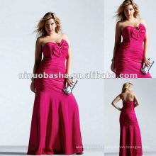 Strapless Sweetheart Pleated Evening Dress 2012
