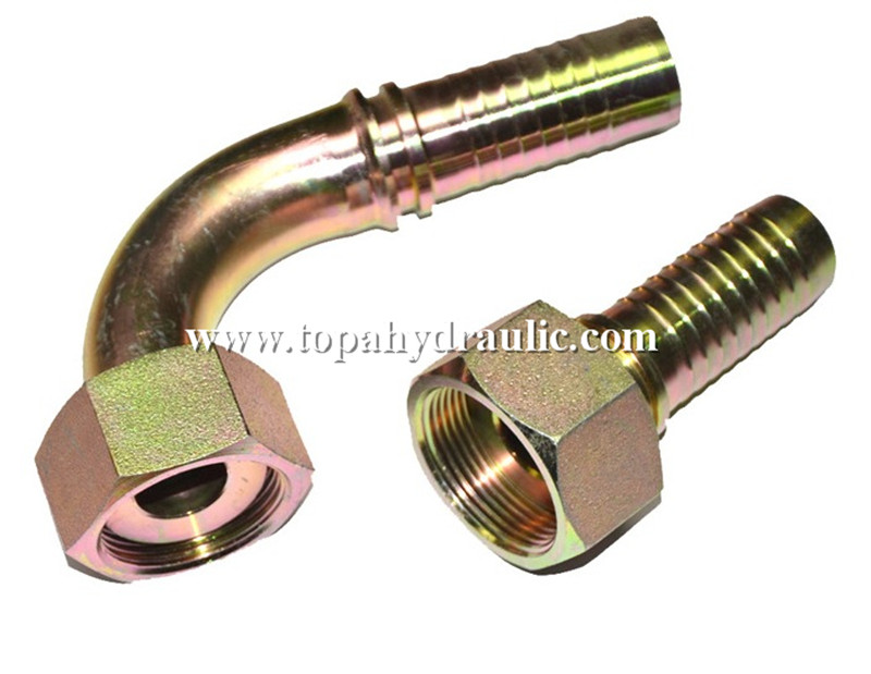 Metric hydraulic fittings hose to hose connector