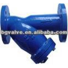 Flange End Y-Type Cast Iron Strainer
