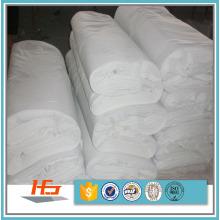 Tissu de lin blanc uni de T / C 50/50 Polycotton pour la literie