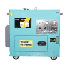 7kw Silent Diesel Generator Set with 192f Engine