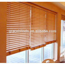 Custom Motorized Wooden Venetian Blinds PVC for home decoration