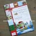 Personnages de Noël Pack de papier A4 Kits de papier peint du Scrapbook du père Noël
