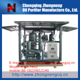Double-Stage Highly Effective Vacuum Insulating Oil Purifier