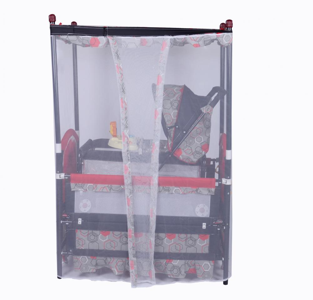 Luxury Baby Bed With Mosquito- Net and Stroller Bed