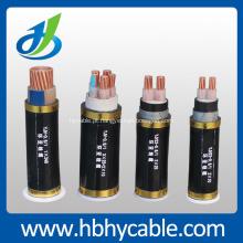 8,7 / 10KV 1or3 núcleos Cu / cabo de fio elétrico do XLPE do Al