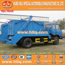 4x2 170hp DONGFENG 8cbm arm roll container refuse truck skip loader truck new model attractive and reasonable price
