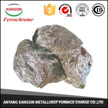 fundición de escoria ferrocromo de acero inoxidable y acero con bajo contenido de carbono