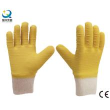 Knit Wrist, Latex Fully Coated Work Gloves