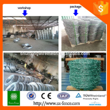 Alibaba golden china supplier pvc coated barbed wire