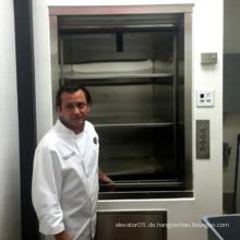 100-300kg Hotel Küche Klein Essen Aufzug