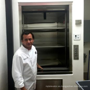 100-300kg Hotel Kitchen Small Food Elevator