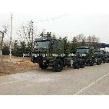 6X6 Cargo Truck 9m Flatbed Truck Awd