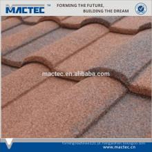 Máquina de telha de telhado de metal revestido de pedra de alta qualidade para o mercado de Nigéria