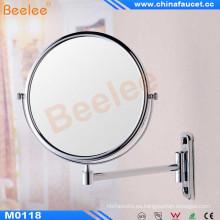 Promoción Espejo de aumento giratorio montado en la pared redonda