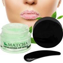 OEM/ODM Hydrating Treatment Exfoliating Green Tea Matcha Sugar Lip Scrub