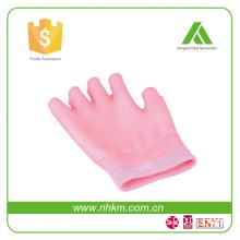 New design moisturizing cotton gel gloves