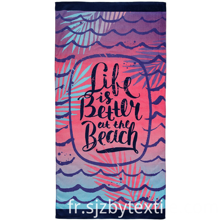 Theme Pattern Beach Towel