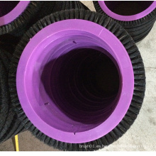 "Cepillo de la rueda del alambre negro puro de 1.7 ""para la maquinaria de Stenter del Lk"