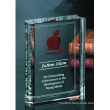 Personalized Crystal Bible, Crystal Glass Book for Religious Gifts