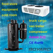 R22 réfrigérateur à réfrigération rotative marche dans un compresseur plus frais pour unité de condensation vente chaude