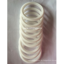 China Sanitary White Silicon Seal Ring für Triclamp Ferrule