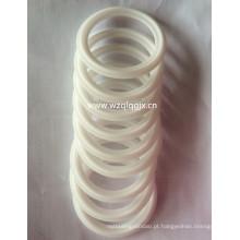 China Anel de vedação de silicone branco sanitário para Triclamp Ferrule
