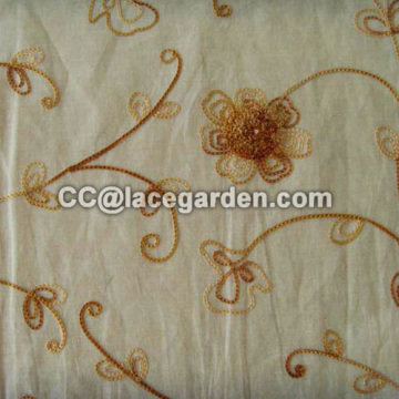 New Design Chain Embroidery Fabric