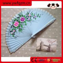 ventilateur à manivelle, ventilateur à main promotionnel, cadre de ventilateur à main