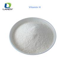 Qualité d'alimentation D-biotine de qualité pharmaceutique de la meilleure qualité de la vente H de 2018 H