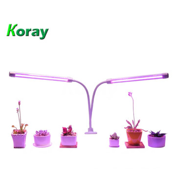 Dual Head T8 with 360-degree flexible neck Grow Light tubes