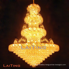 Interior decor LED light fitting home use hanging chandelier LT-65004