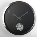 Metal 16-inci Gear Walll Clock With A Circle