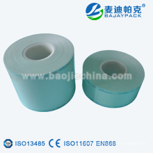 Material de carrete plano de esterilización de suministro médico