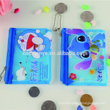 Fancy children pvc wallet with coin slot