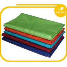 Abaya ropa al por mayor tela de algodón jacquard brocado nuevo diseño bazin riche