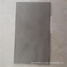 Malla de alambre de acero inoxidable de 5 capas para el filtro