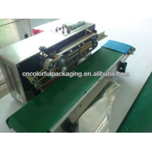 Heat Sealing Machine for Sealing Plastic Bags/aluminium foil bag sealing machine conveyor
