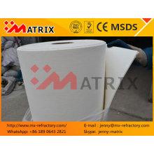 Ceramic Fiber Fireproof Paper For Pipe Insulation