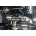 Máquina de moldeo por soplado de extrusión de botella de plástico de 4 cavidades