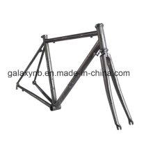 Frame da bicicleta do peso leve alta Flexibillity de titânio