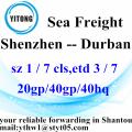 Shenzhen Global Shipping Agent to Durban