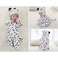 Soft baby Romper Animal Onesie Costume Cartoon Outfit Homewear sleep wear,flannel,baby white wear,cute hooded towel