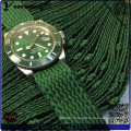 Yxl-030 Logo personnalisé montres Perlon Strap 3ATM résistant à l'eau montre à quartz promotionnel mode nouvelle conception hommes montres usine