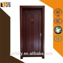 Continued hot solid wood frame Chinese fir/cherry/oak/teak/walnut composite modern design solid wooden door